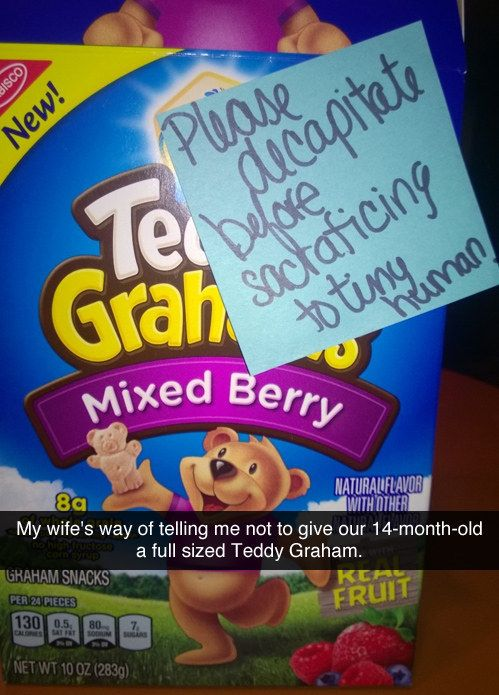 When this mom took parenting instructions to the next level. | 21 Times Moms Proved They Were The Funny One In The Family