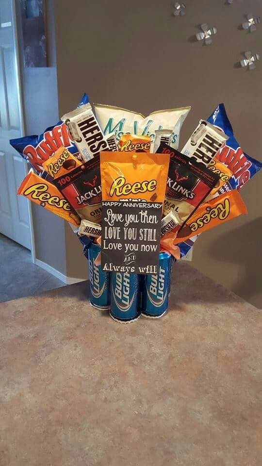 Man bouquet Valentine's day Father's day Gift idea