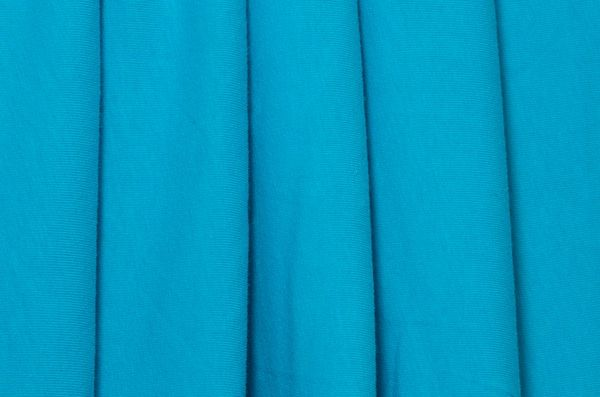 Cotton lycra turquoise need about 70 by 70 lycra for Lycra space fabric