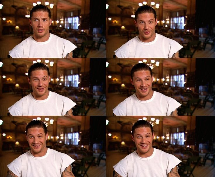 tom hardy with his eames hair all in place on the inception set :)