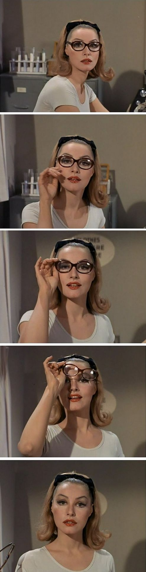 Julie Newmar just melted your brain #pinup #actor #glasses