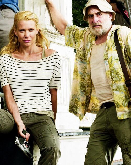 Andrea and Dale #TheWalkingDead