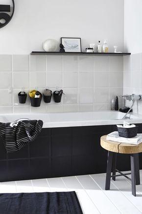 Dipingere piastrelle bagno / bagno piccolo / Rinnova il bagno senza ristrutturare in 7 mosse #hogarhabitissimo