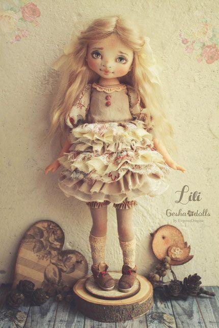 Лили - GeshaDolls-авторские куклы Евгении Драгиной