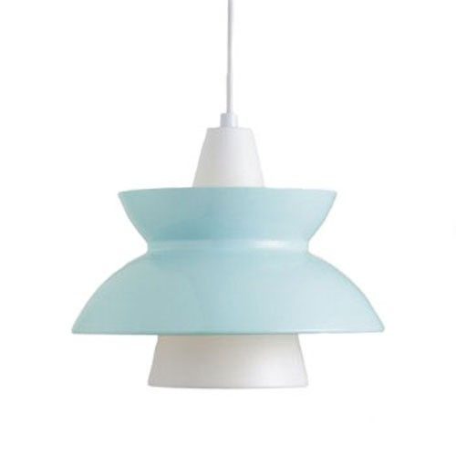 Originally introduced in the 1950s, the Doo-Wop Pendant Light was designed in close cooperation between the Navy Buildings Department and Louis Poulsen. http://www.ylighting.com/louis-poulsen-doo-wop-pendant-light.html