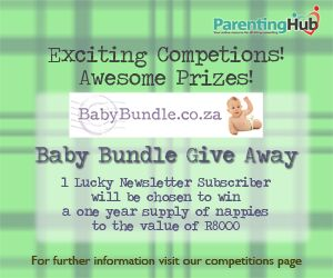 Enter to win a years supply of nappies valued at over R8000 http://www.parentinghub.co.za/competitions/baby-bundle-competition/