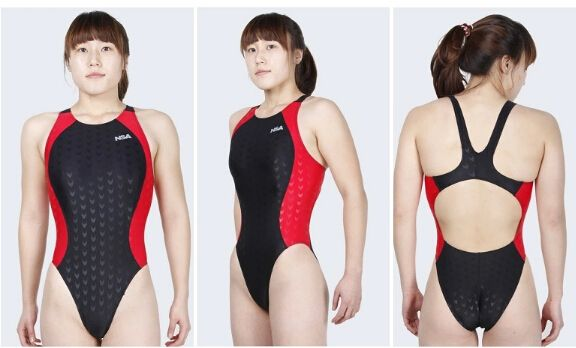 NSA professional sport swimsuits one piece swimsuit training of swimming competition triathlon suit plus size bathing suits