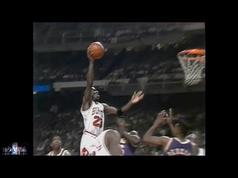 Michael Jordan Offense Highlights 1991,1992 Finals - YouTube
