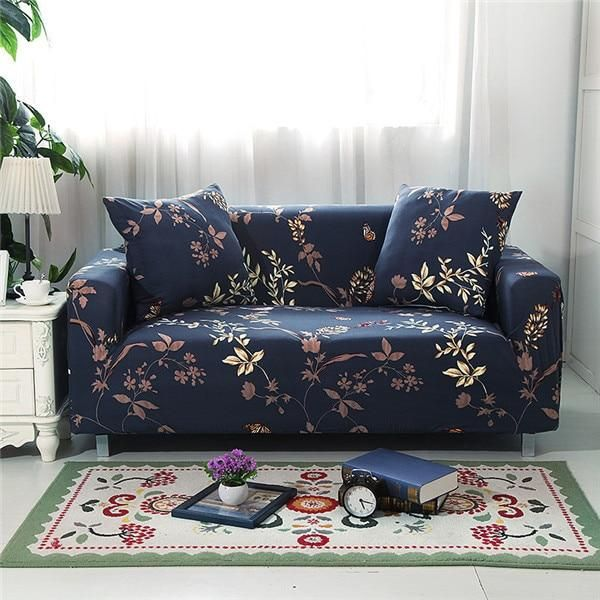 Elastic Sofa Cover Sectional Stretch Slipcovers For Living Room Couch Sheheonline Slipcovered Sofa Love Seat Slipcovers