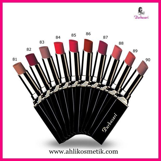 Lipstick Purbasari : Bibir Merah Delima Ala Indonesia