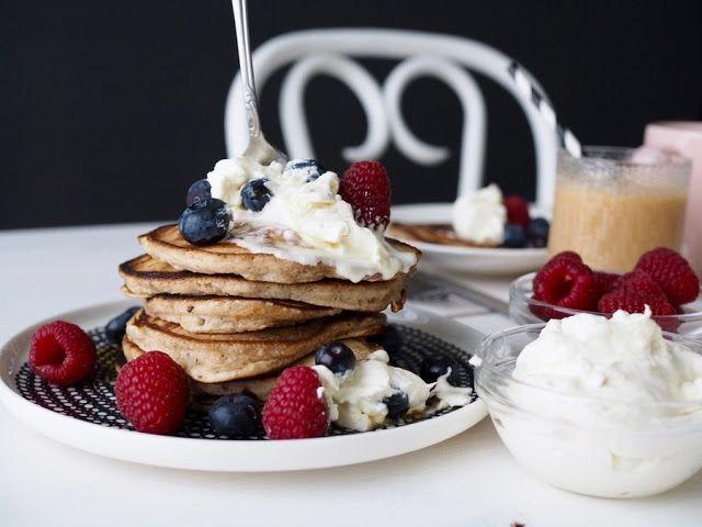 Kanelipannarit / Cinnamon Pancakes by Makuja kotoa
