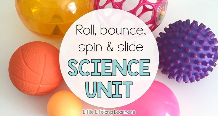 Explore how things move - do they roll, bounce, spin or slide? Hands on learning activities and printables for exploring movement in Prep and Kindergarten.