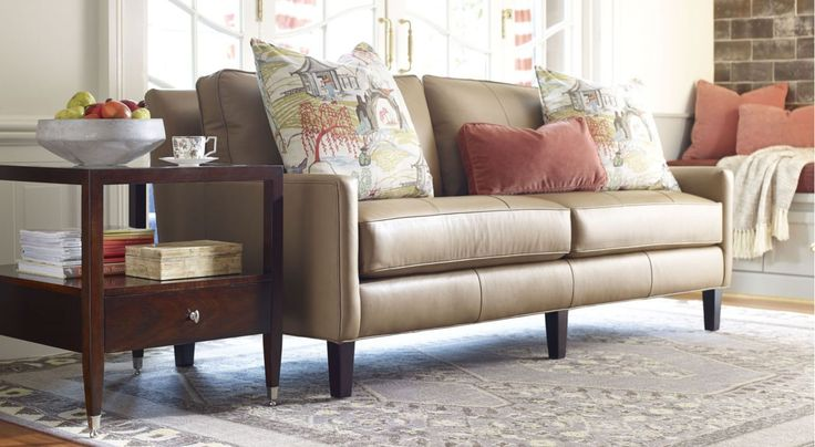 Whether you adore a classic blueblood aesthetic or a downhome décor, you can find a Thomasville sofa to suit your desires perfectly.