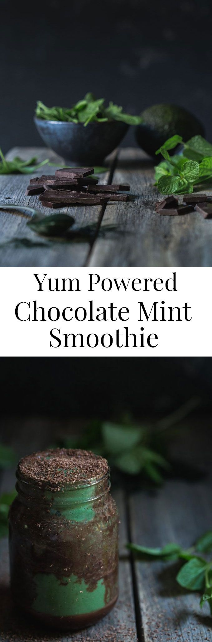 This Yum Powered Chocolate Mint Smoothie is not only a nutritious glass; it's a cup full of delicious and fun flavours. The kids are going to love this.