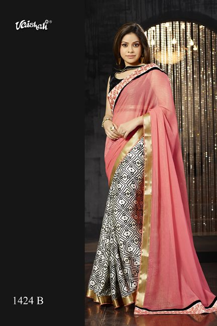♥ Saree Code 1424-B ♥ Material - Amazing embellished italian satin crepe ♥ Blouse - Unstitched & included ♥ Embroidered - A touch of embroidered border ♥ Occasion - Fancy party wear ♥ Collection - Exclusive celebrity catalog of Sumona Chakravarti  ♥ Brand Name - Vaishali Fashion ♥ Length of the Saree : 6.3 Meters including Blouse (Standard)  ♥ Any queries - Call us on 01923232929, 01787766777 (Wed-Mon, 10 am-8 pm)