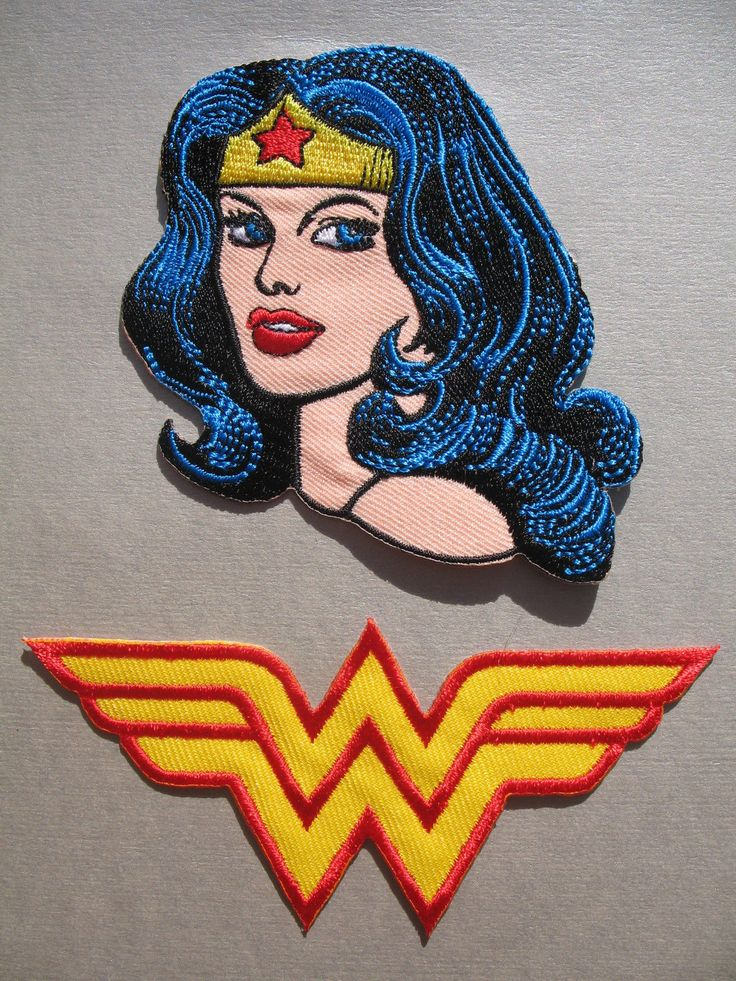 Wonder Woman Iron on Patches                                                                                                                                                                                 Más