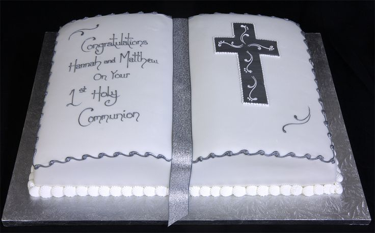 Confirmation Cakes For Girls   Pin Confirmation Cake Bible On A Cake on Pinterest