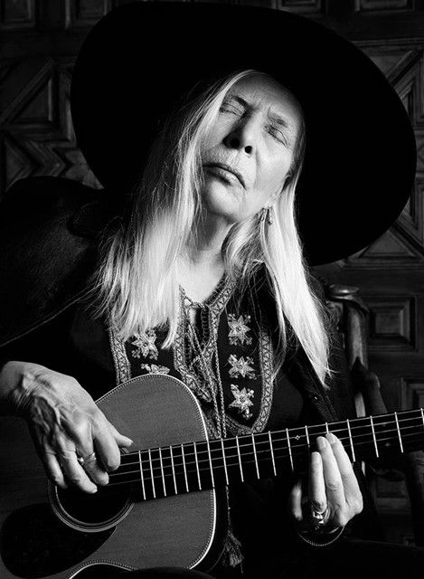 Joni Mitchell for Saint Laurent S/S15 | AnOther Loves