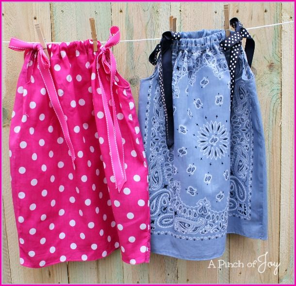 how to make a bandana dress for a toddler