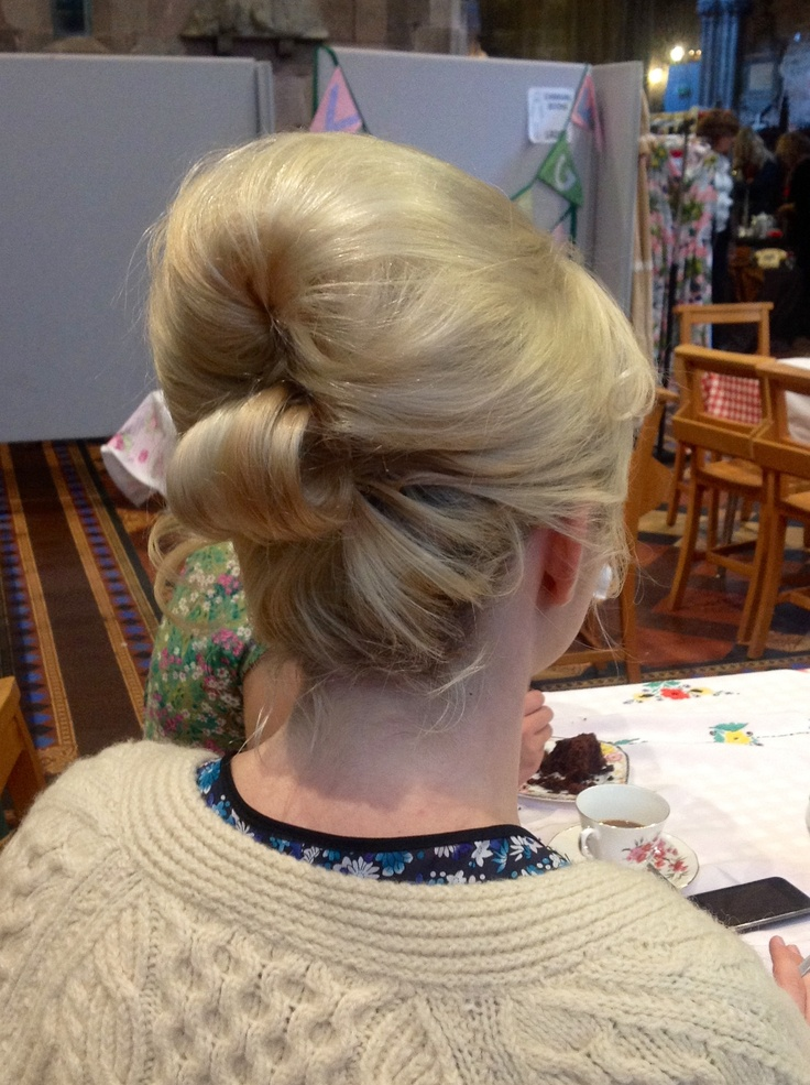 Back view-60s Beehive