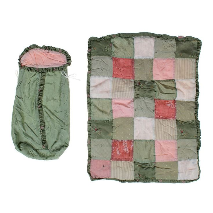 Blanket & Diaper Holder Set