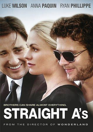 NEW Straight A's DVD 2013 Ryan Phillippe Anna Paquin Luke Wilson FREE S/T US | DVDs & Movies, DVDs & Blu-ray Discs | eBay!