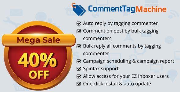 Download Free CommentTag Machine v2 0 2 - A EZ Inboxer Add