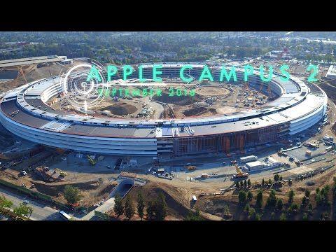Así está la construcción del Apple Campus 2 a septiembre de 2016 - http://www.actualidadiphone.com/asi-esta-la-construccion-del-apple-campus-2-septiembre-2016/