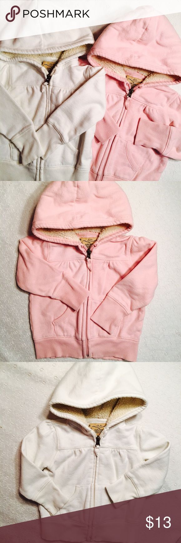 Toddler Old Navy hoodies Toddler Old Navy hoodies. One pink, one white. Both in good used condition. Both size 2T. Old Navy Jackets & Coats