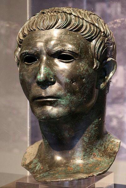 Ritratto di Gabio Bebio Attico. I sec.d.C. museo Archeologico Nazionale di Cividale