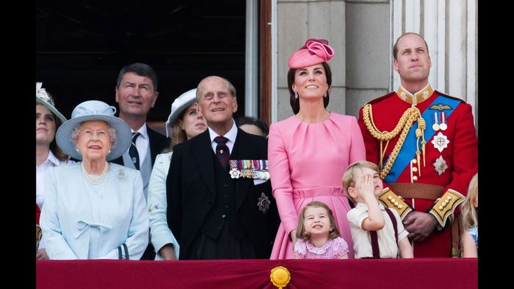 The Royal Family attend the annual Trooping the Colour Ceremony
