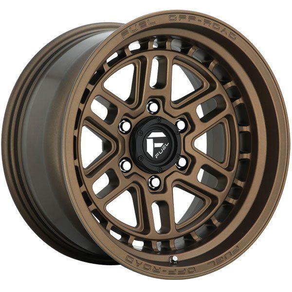 Fuel D669 Nitro Matte Bronze Wheels 4wheelonline Com Fuel Wheels Wheel Rims Fuel Offroad Wheels