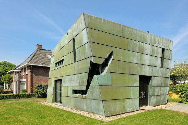 Amersfoort – Bachweg ,groen koperen huis  ( Architect Rik Lagerwaard)