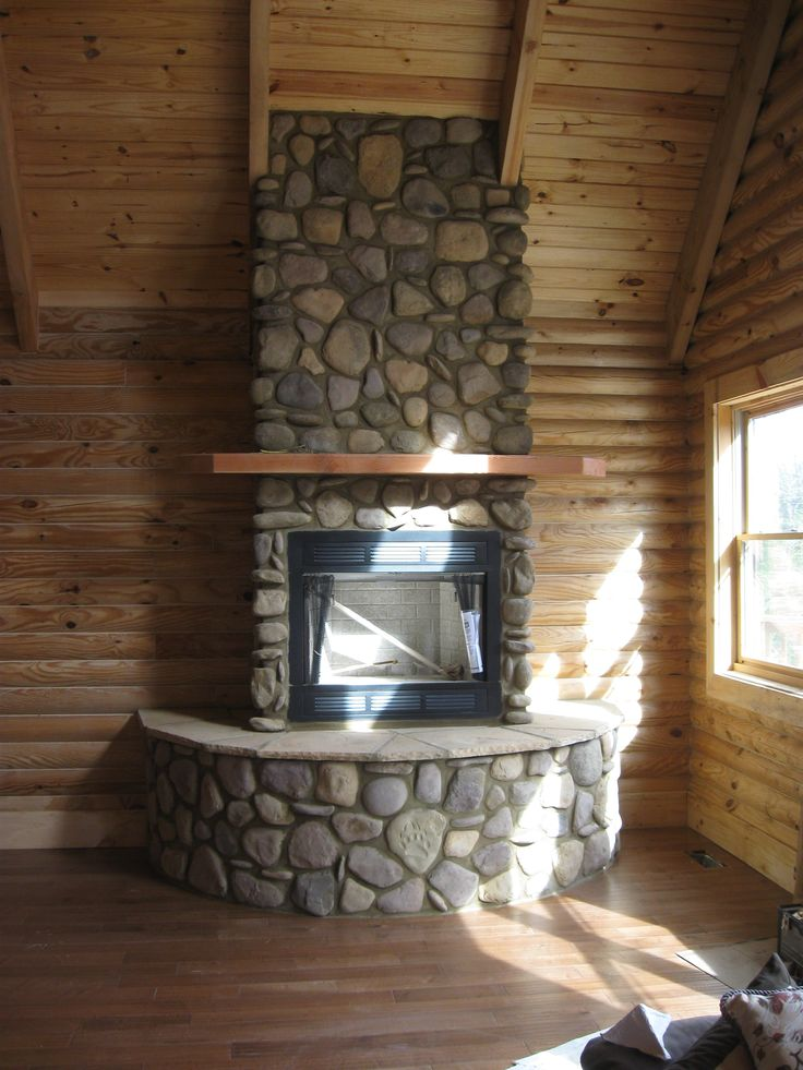 17 Best Ideas About River Rock Fireplaces On Pinterest Stone For Fireplace River Rock Decor
