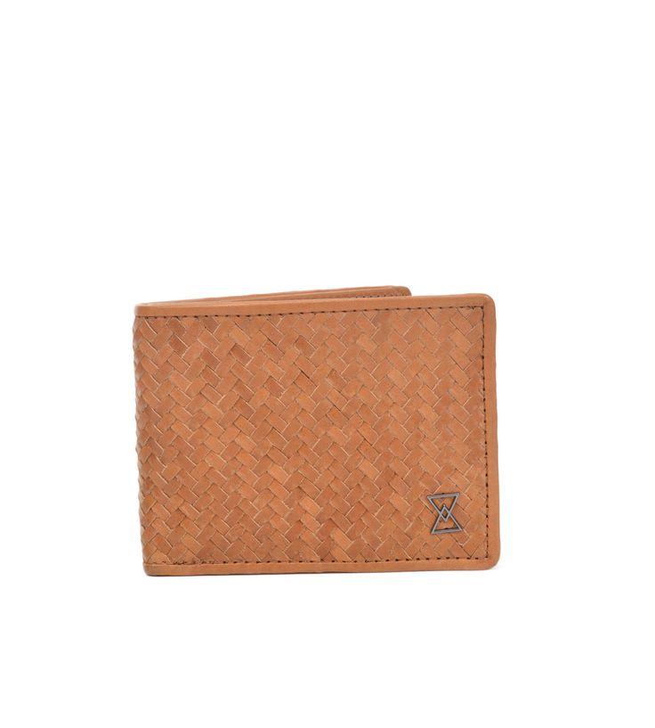 Lino Leather Hip Wallet | Golden Oak VT