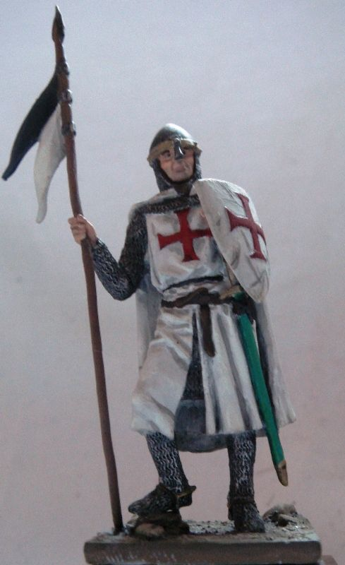 David y el Modelismo. Caballero Templario.  .DvDv. 2002