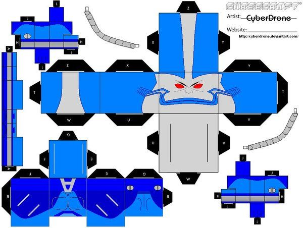 Cubee - Apocalypse by CyberDrone.deviantart.com on @deviantART