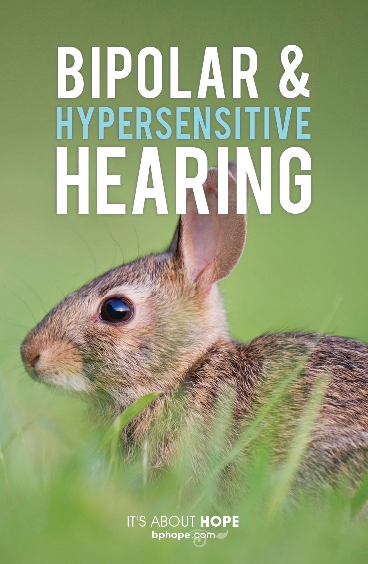 Do sounds that don't bother anyone else make you want to tear your hair out? Hearing hypersensitivity is a fairly common mood symptom with bipolar. http://www.bphope.com/when-noise-annoys-coping-with-hypersensitive-hearing/