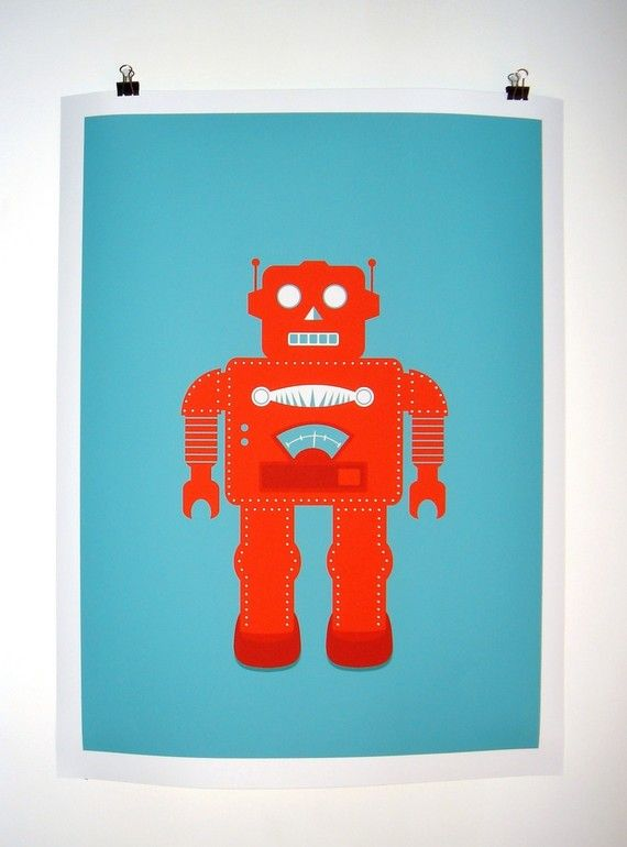 17 Best Images About Robot Nursery Ideas On Pinterest