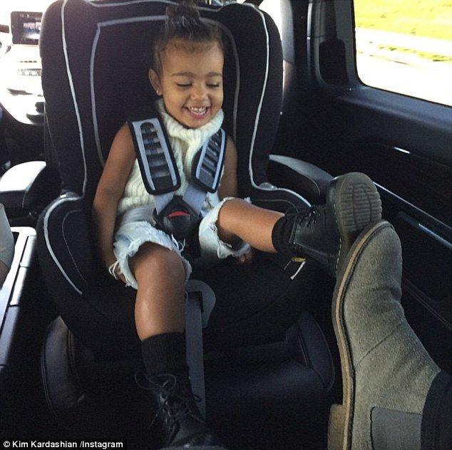 The sweetest thing: Kim Kardashian posted an adorable throwback picture of her daughter North