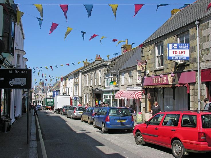 Meneage Street, Helston  I used to shop here.