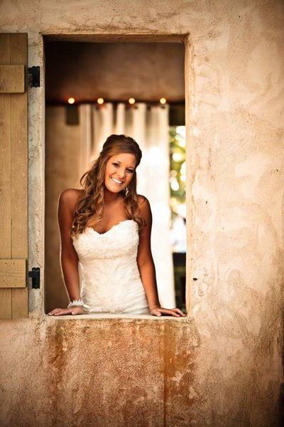 I like her hair for a wedding do.