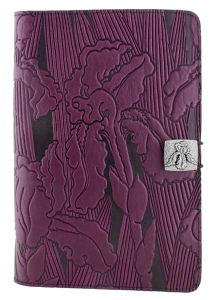 Leather Kindle Fire Covers and Cases | Iris in Orchid