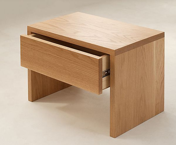 Our newly redesigned Kyoto bedside drawer table in oak: http://www.naturalbedcompany.co.uk/shop/bedside-drawers/kyoto-drawer-table/