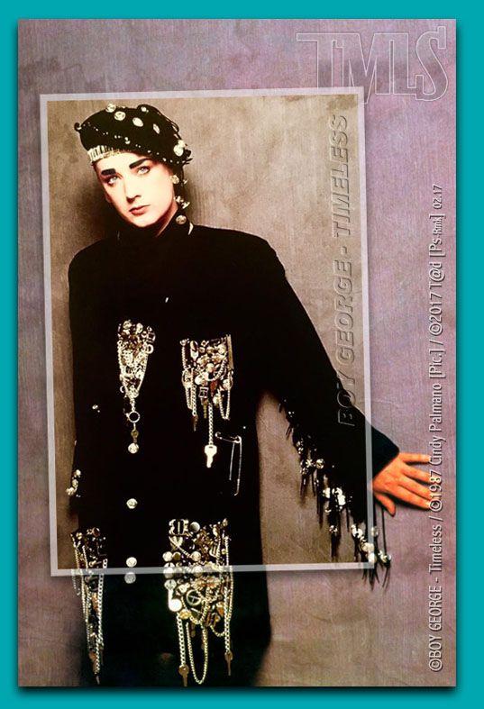 BOY GEORGE - 1987 - Photo: ©1987 Cindy Palmano [Pic.] / Montage: ©Février 2017 T@d [Ps-Co] - MOW.factory Docs ------------------------------------------------------------------------- #BoyGeorge #Tad #MOWfactory #BOYGEORGETimeless #CultureClub #TMLS #MOW #Timeless #ODowd #GeorgeAlanODowd