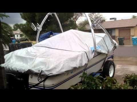 Classic Accessories Ski Boat Hurricane Boat Cover - YouTube