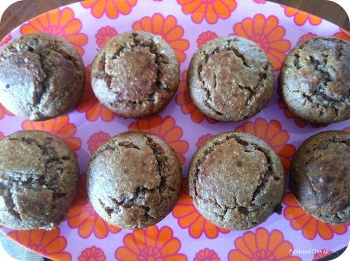 Mageløse mandelmuffins