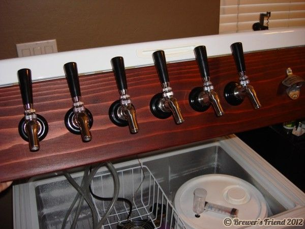 259 Best Kegerators Keezers And Brew Related Images On