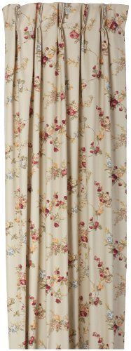 Fireside Floral Pinch Pleated 96-Inch-by-84-Inch Thermal Insulated Drapes, Linen by Ellis Curtain. $134.99. Measurements 96-inch overall width (both 48-inch panels combined) 84-inch overall length. Pregatherd pleated curtain creates a updated and stylish look to any room; Easy to hang. Foam back thermal insulating saves energy and money; Improved light blocking. 100% heavyweight cotton face for smoother draping effect; 5-inch bottom hem. Face: 100% Cotton/Backing...