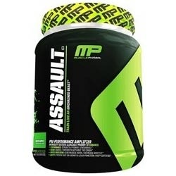 Muscle Pharm Assault pre-workout formula. This stuff is awesome~ just dont take it w/ caffefine or it'll make u sick.
